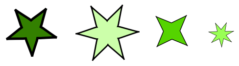 星の並び 問題